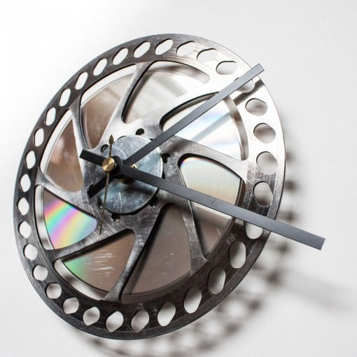 Bike Disk Brake Clock side