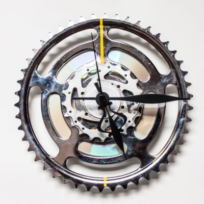Large Bike Sprocket Clock