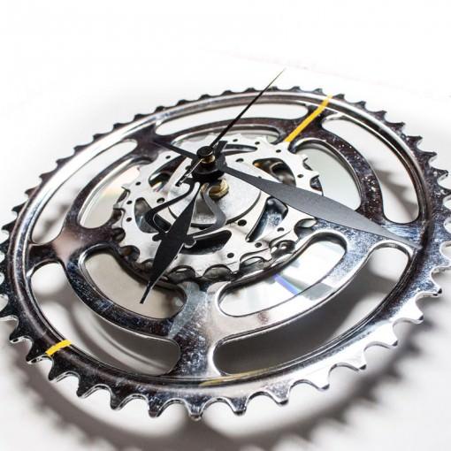 Large Bike Sprocket Clock angle