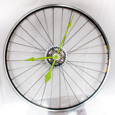repurposed-bike-wheel-clock-neon-green-main