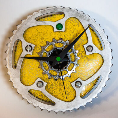 repurposed-rear-bike-sprocket-clock-green-yellow-main