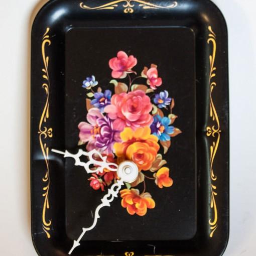 Vintage-Enamel-Tray-Black-Floral-main